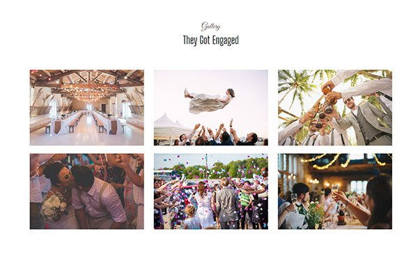 Gallery with image lightbox using bootstrap framework
