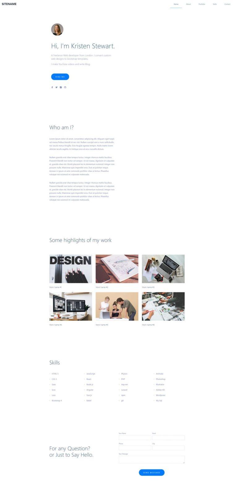 Best Minimal Portfolio Templates