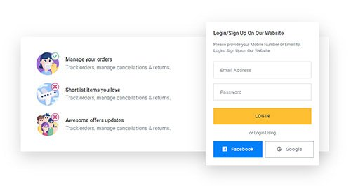 Best bootstrap login registration form design