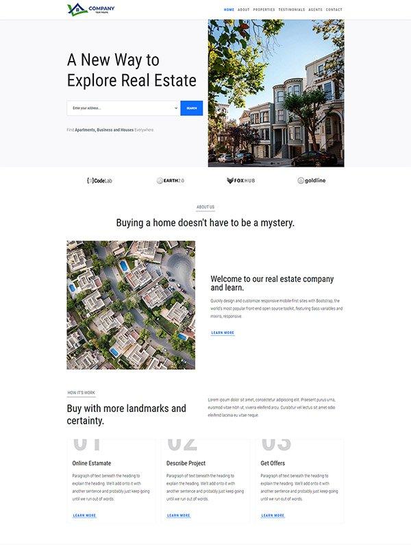 Free Best Real Estate Website